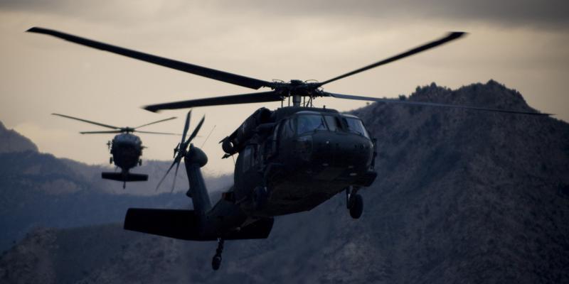 helicopteros triangulo dorado