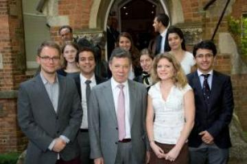 the lac welcomes president santos on his state visit to the uk